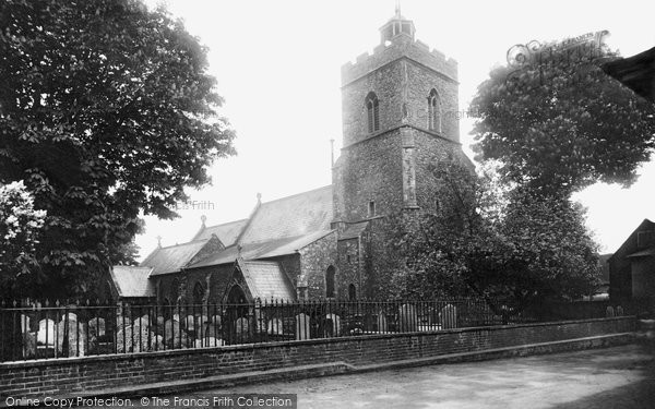 Photo of Wivenhoe, Church Of St Mary The Virgin 1907