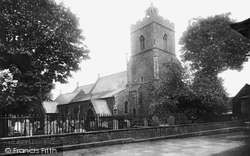 Wivenhoe, Church Of St Mary The Virgin 1907
