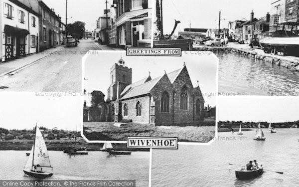 Photo of Wivenhoe, Composite c.1960