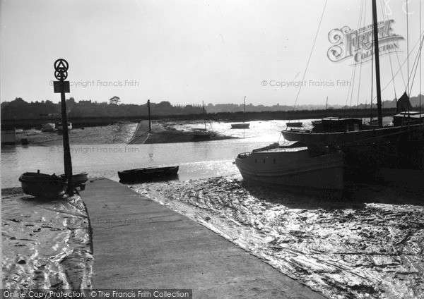 Photo of Wivenhoe, Evening Over Fingringhoe Ferry c.1955
