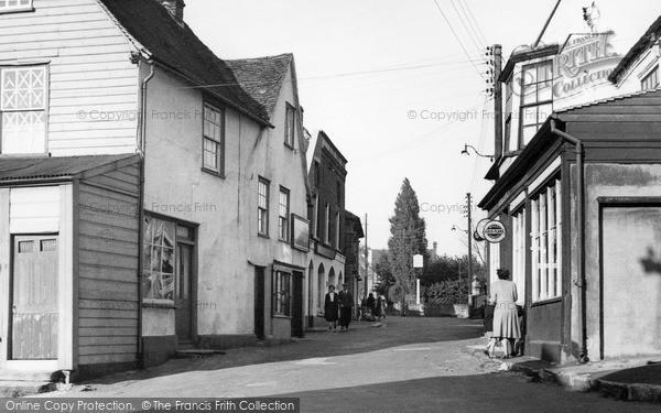 Photo of Wivenhoe, High Street c.1955