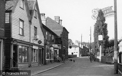 Wivenhoe, High Street c.1955