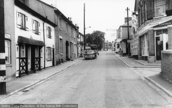 Photo of Wivenhoe, High Street c.1960