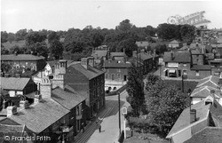 Wivenhoe, High Street From Church Tower c.1955