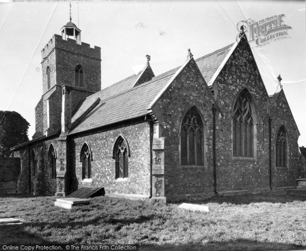 Photo of Wivenhoe, St Mary The Virgin Church c.1955