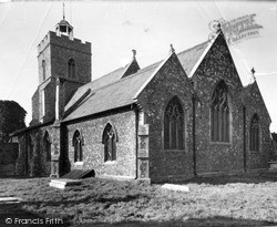 Wivenhoe, St Mary The Virgin Church c.1955