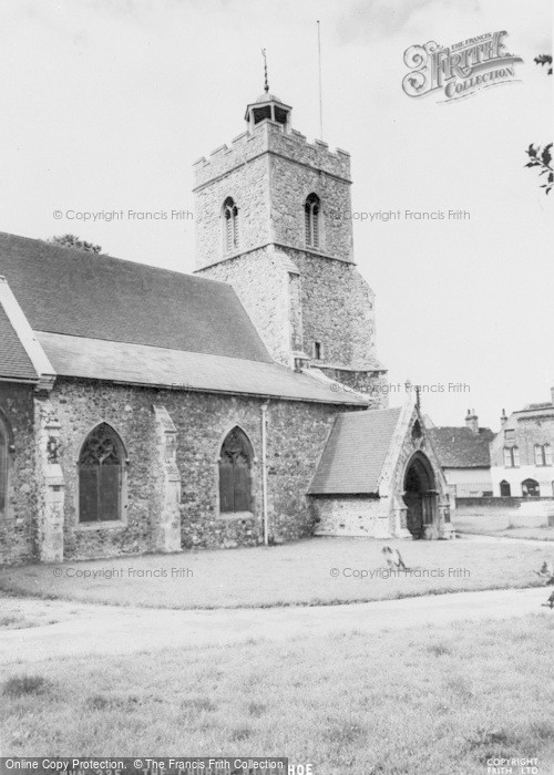Photo of Wivenhoe, The Church c.1960