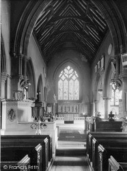 Wivenhoe, The Church Interior c.1955