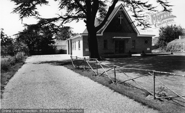 Photo of Wivenhoe, The Congregational Church c.1965
