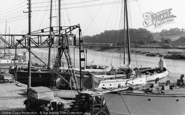 Photo of Wivenhoe, The Quay And River Colne c.1955