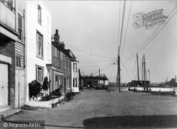 Wivenhoe, The Quay c.1955