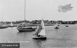 Wivenhoe, The River c.1960