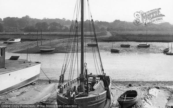 Photo of Wivenhoe, The River Colne c.1955
