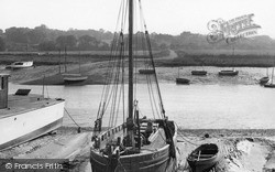 Wivenhoe, The River Colne c.1955