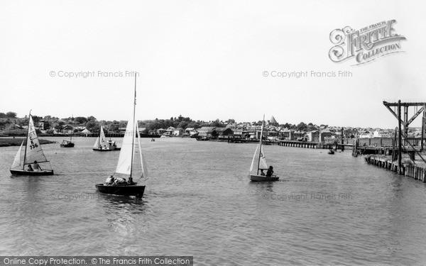Photo of Wivenhoe, The River Colne c.1960