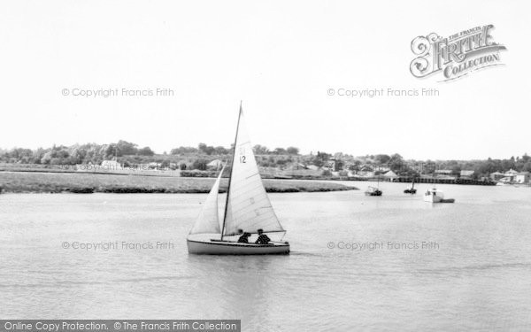 Photo of Wivenhoe, The River Colne c.1960