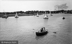 Wivenhoe, The River Colne c.1960