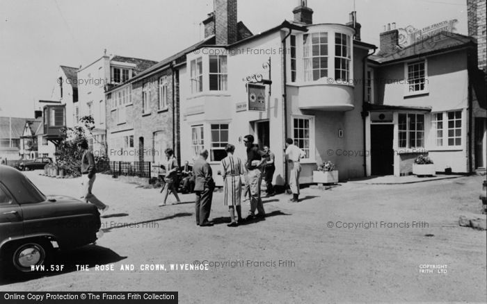 Photo of Wivenhoe, The Rose And Crown c.1960