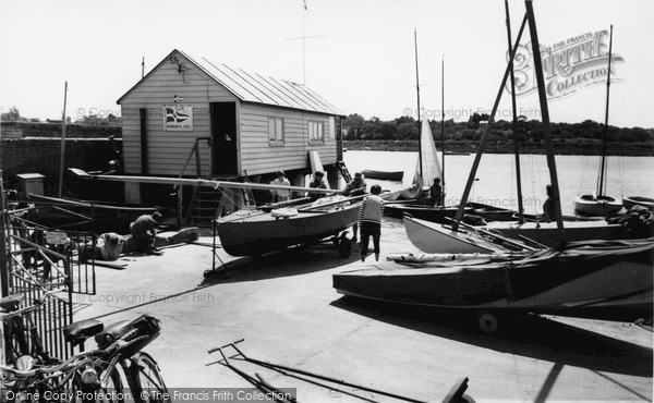Photo of Wivenhoe, The Sailing Club c.1960