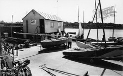 Wivenhoe, The Sailing Club c.1960