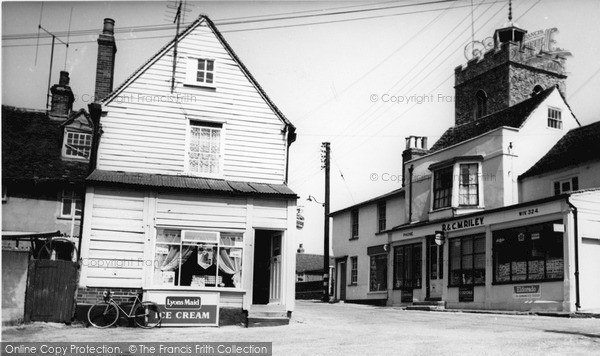 Photo of Wivenhoe, The Square c.1965