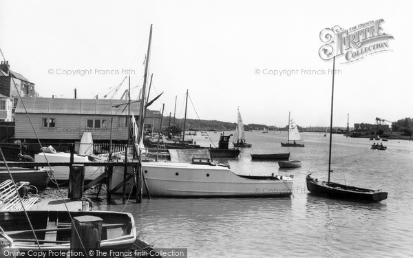 Photo of Wivenhoe, The Waterfront c.1960