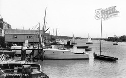 Wivenhoe, The Waterfront c.1960