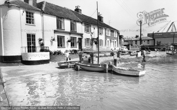 Photo of Wivenhoe, View From The Quay c.1960