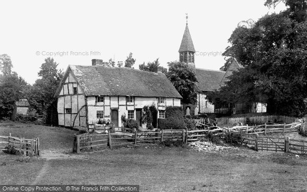Photo of Wixford, Village 1901