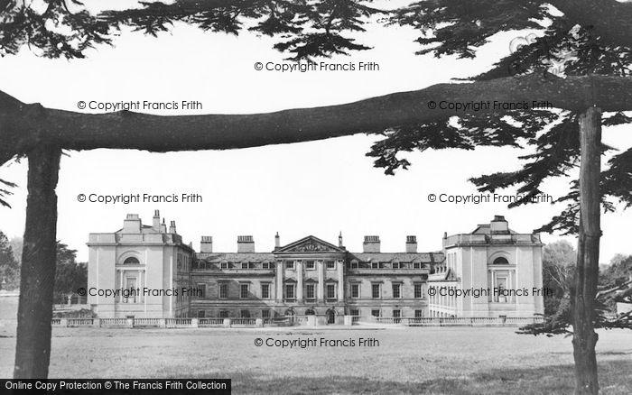 Photo of Woburn Abbey, A Peep Through Cedars c.1950