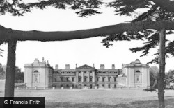 Woburn Abbey, A Peep Through Cedars c.1950