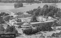 And Park, Aerial View Prior To 1950, Woburn Abbey