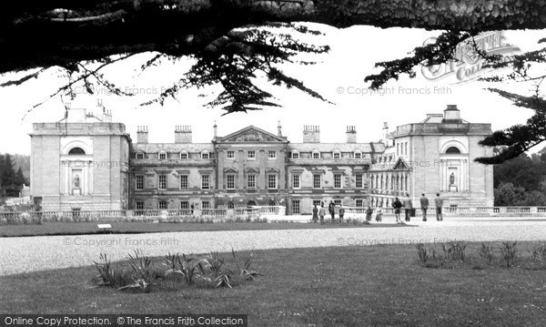 Photo of Woburn Abbey, From The Cedars c.1955