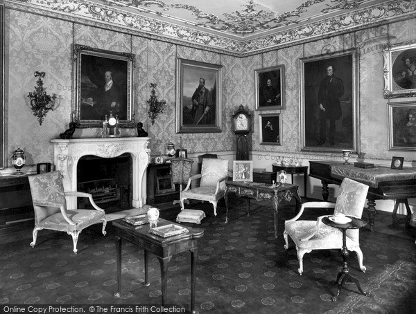 Photo of Woburn Abbey, Prince Albert's Sitting Room c.1955