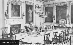 Woburn Abbey, State Dining Room c.1960