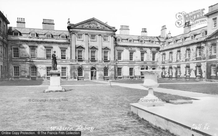 Photo of Woburn Abbey, The House c.1955
