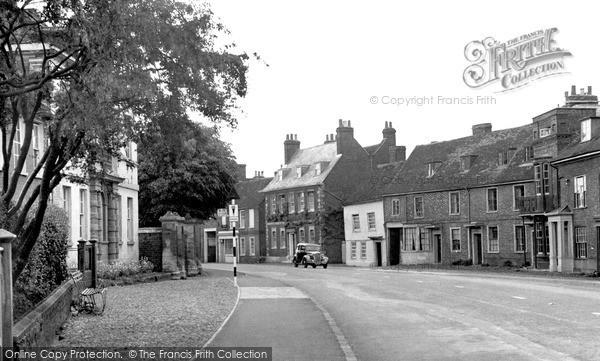 Photo of Woburn, Bedford Street c1955
