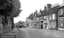Woburn, Bedford Street c.1955