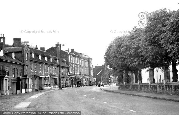 Photo of Woburn, Bedford Street c1955