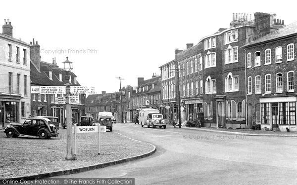 Photo of Woburn, High Street c.1955
