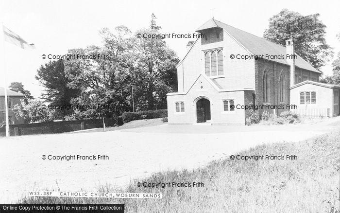 Photo of Woburn Sands, Catholic Church c.1970