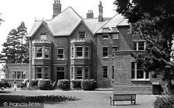 Woburn Sands, Edgbury Convalescent Home c.1955