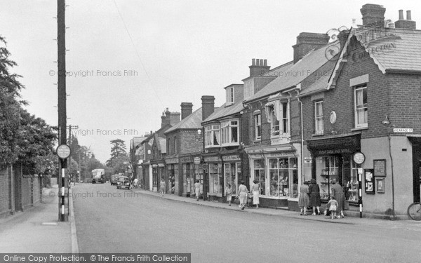 Photo of Woburn Sands, High Street c.1955