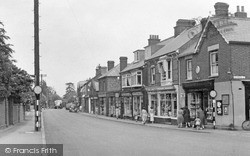 Woburn Sands, High Street c.1955