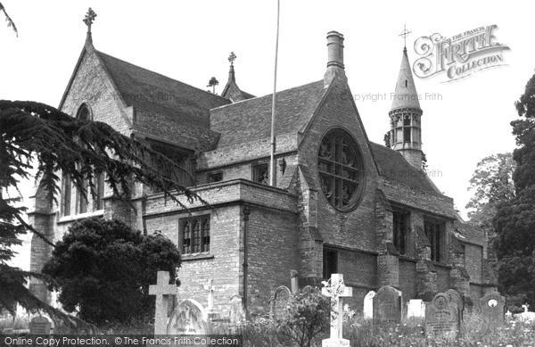 Photo of Woburn Sands, St Michael's Church c.1955