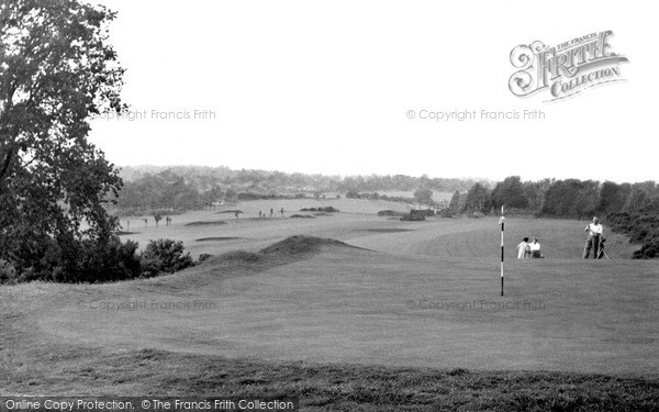 Photo of Woburn Sands, The Golf Course c.1955