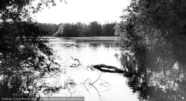 Photo of Woburn Sands, The Lake, Woburn Park c.1970
