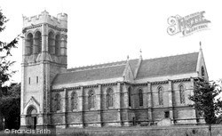 Woburn, St Mary's Church c.1955