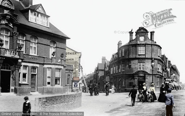 Photo of Woking, Albion Hotel 1901