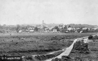 Woking, Barracks 1898